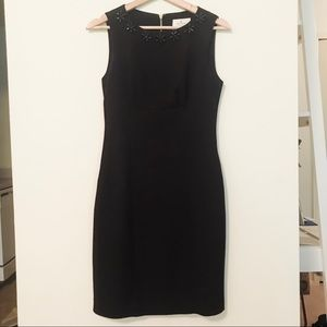 KATE SPADE embellished sheath dress